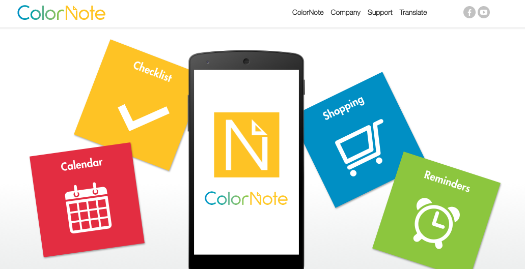 how to use color note app